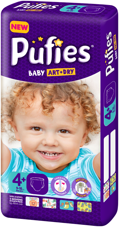 Pufies Package Size 4+