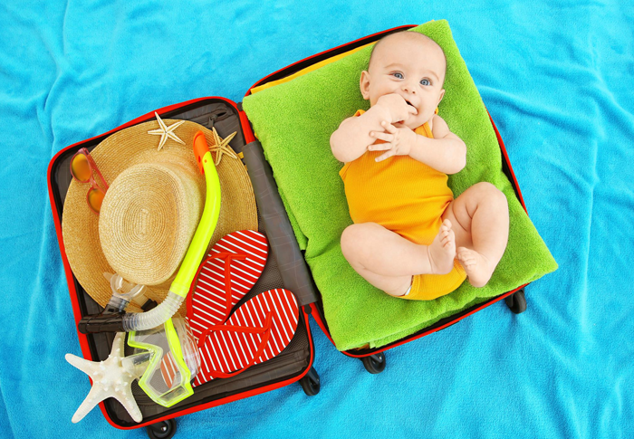 How to prepare for travelling with the baby