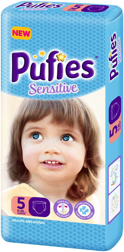 Pufies Sensitive: Package Size 5